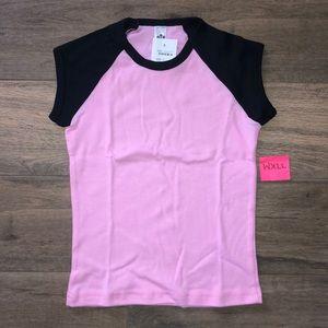 American Apparel Shirt Sleeve Top NWT
